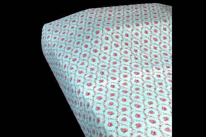 Cubrecama doble patchwork flores 12 microfibra 100%