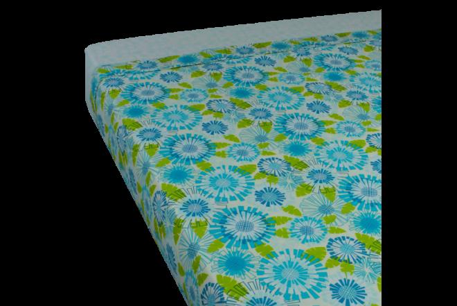 Juego de cama estampado anai doble 144 hilos algodón 100%