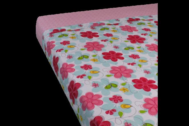 Juego de cama estampado ambrosia doble 144 hilos algodón 100%