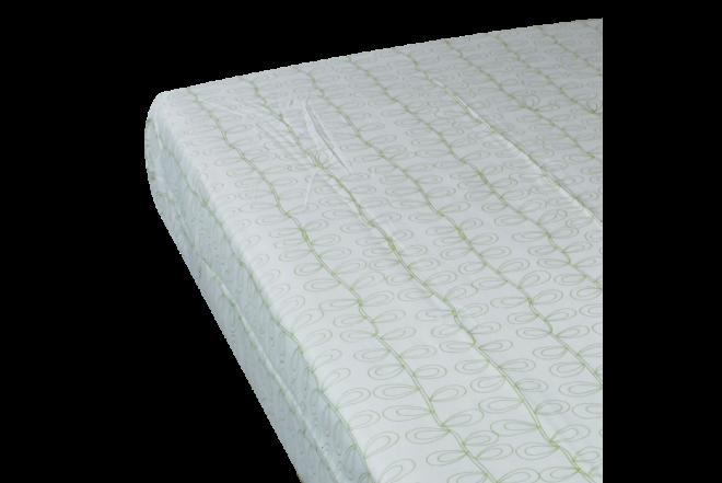 Juego de cama estampado hiedra semidoble 144 hilos algodón 100%