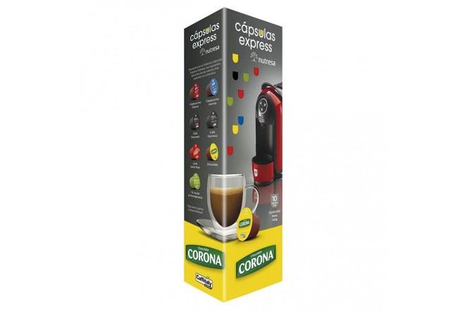 Capsula CORONA Chocolate10 unidades