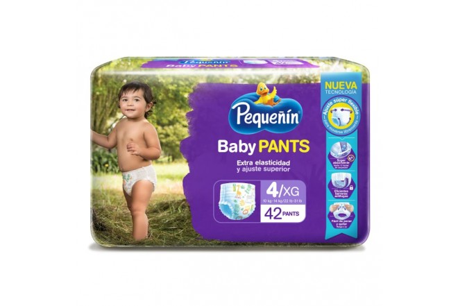Pants PEQUEÑIN Baby XG x42 Unidades