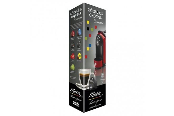 Capsula MATIZ Cafe Ébano 10 unidades