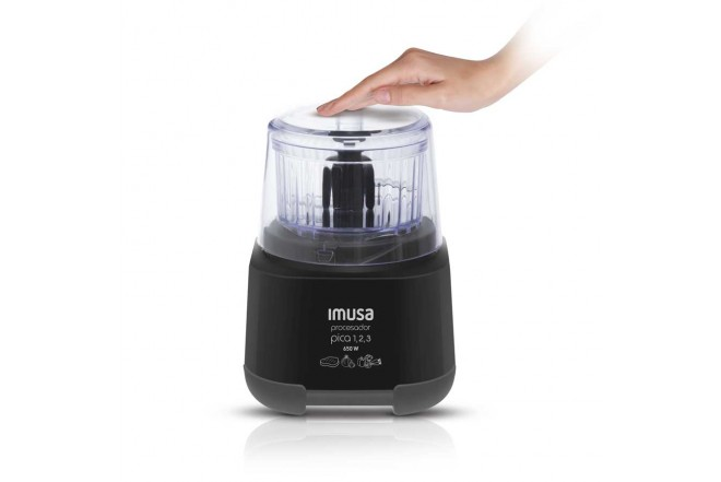 Procesador IMUSA Pica 1,2,3 Negro