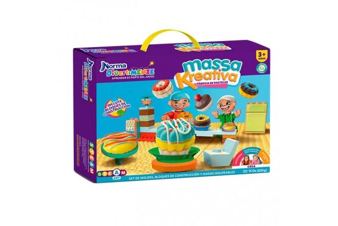 NORMA DIVERTIMENTE Massa Kreativa fábrica de pasteles
