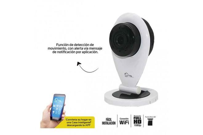 Cámara de Seguridad Fija Wifi Interior Dia/Noche VTA 1080P 2