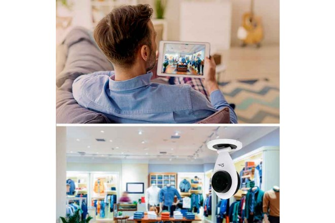 Cámara de Seguridad Fija Wifi Interior Dia/Noche VTA 1080P 4