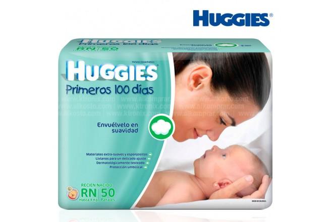 Pañal HUGGIES Recién Nacido Caja 50