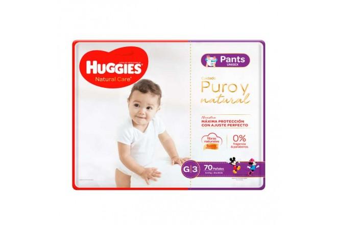 Pants HUGGIES Natural Care G x70 Unidades