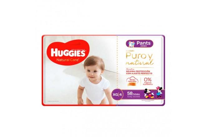 Pants HUGGIES Natural Care XG x58 Unidades