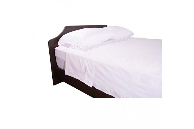 Semijuego de cama K-LINE Doble Ajustable Blanco 144 hilos