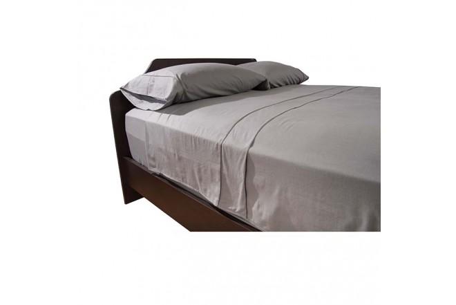 Semijuego de cama K-LINE Sencillo Ajustable Gris 144 hilos