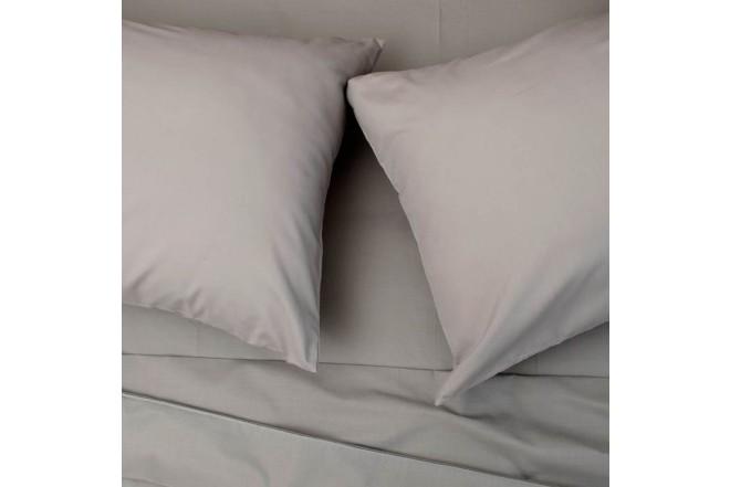 Juego de cama K-LINE Doble Sesgo Gris 144 hilos