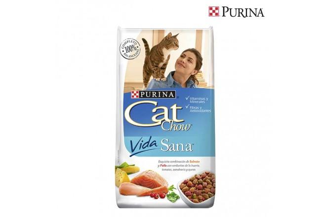 Alimento para Gatos CAT CHOW Vida Sana x 3kg