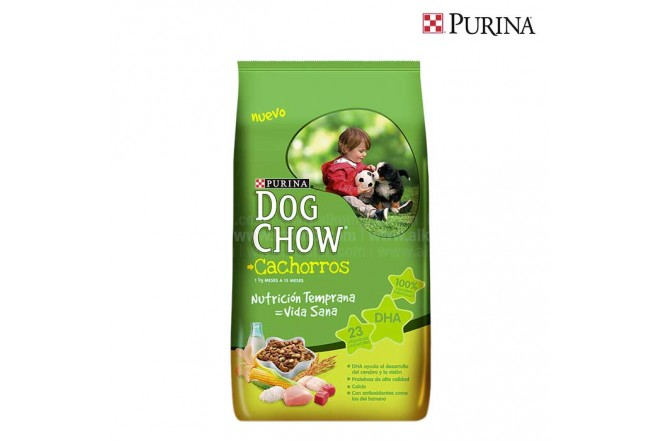 Alimento para Perros DOG CHOW Cachorro Vida 4 Kg