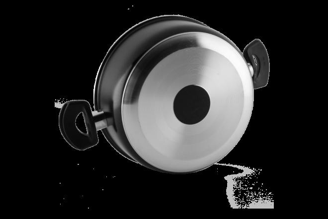 Olla 6 Ultra UNIVERSAL 20 cm con Tapa de Vidrio