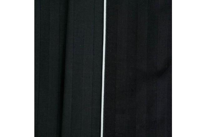 Juego de Cama Extradoble K-LINE Negro 300 Hilos