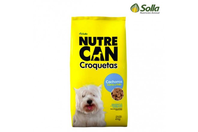 Alimento para Perros NUTRECAN Croquetas Cachorros 4Kg