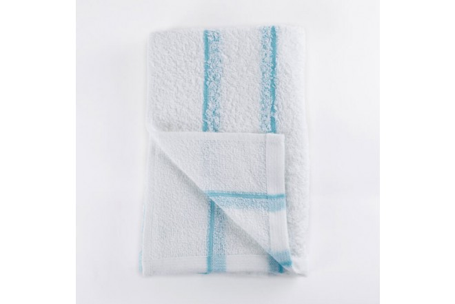 Toalla de cuerpo FATELARES  wet rayas 70 x 140 Azul