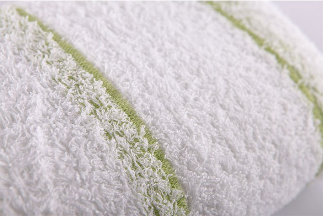 Toalla de cuerpo FATELARES  wet rayas 70 x 140 cm Verde