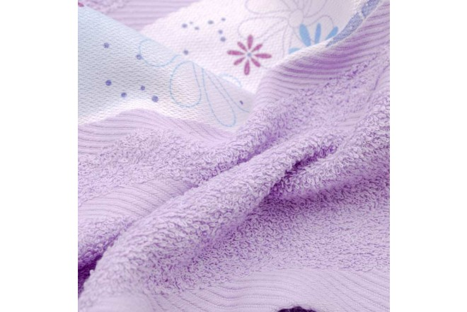 Toalla FATELARES Sofia 70 x 130 cm Violeta