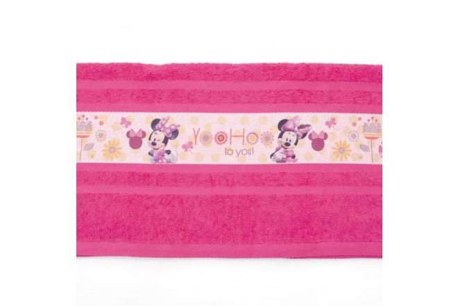Toalla FATELARES Disney Minnie 70 x 130 cm Fucsia