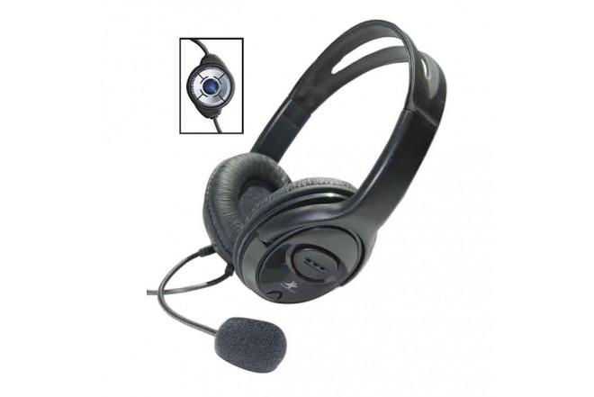 Audifono STAR TEC Alambrico On Ear HP20 Negro 1