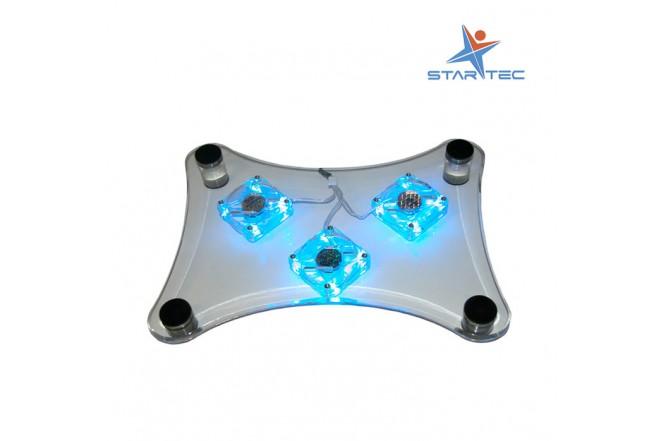 """Base Enfriadora STARTEC 14""""  3 Ventiladores"""