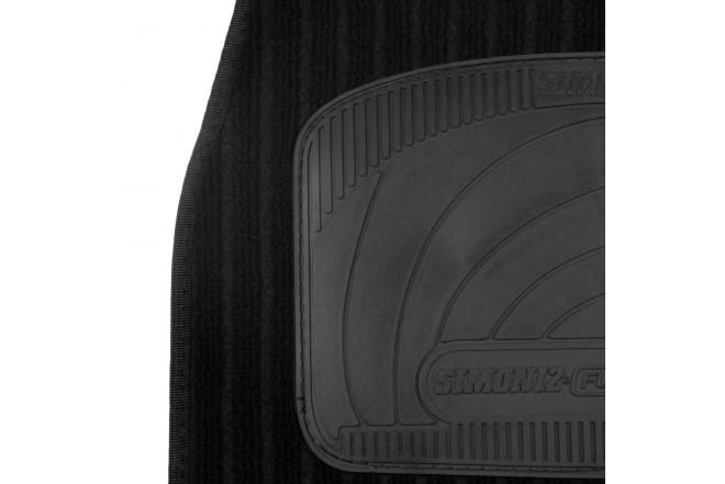 Tapete SIMONIZ comfort line 3 piezas Negro