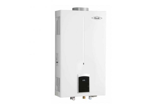Calentador de Paso HACEB CPG 10L Tiro Natural GN2