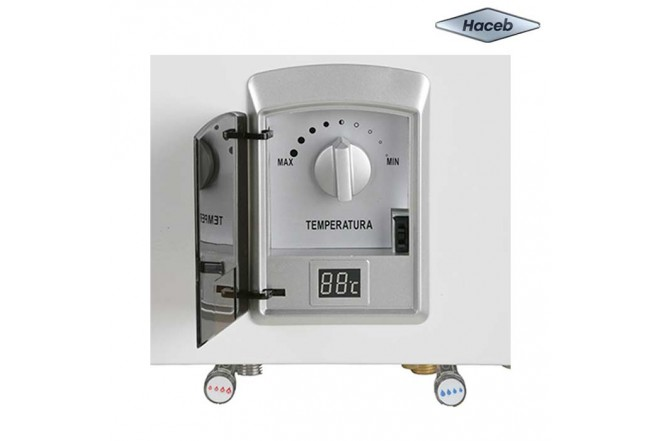 Calentador de paso a gas HACEB CPG 13TN Gas Natural Display