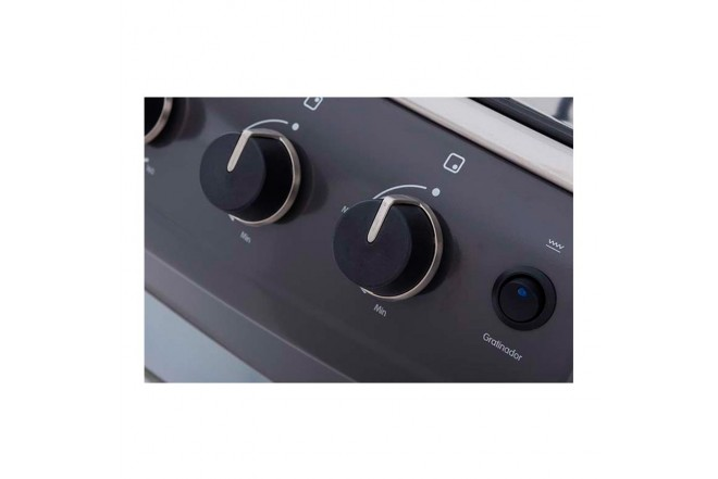 Estufa de Piso HACEB 50-V GAS EE GRT GN Gris7
