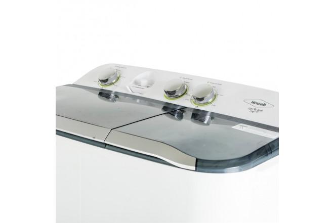 Lavadora HACEB Semiautomática 7 KG SA0700 Blanca 4