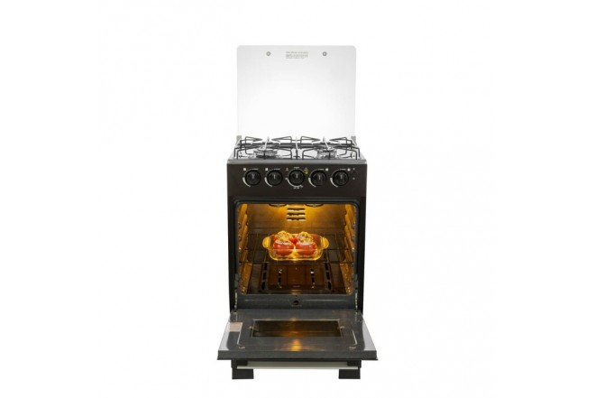 Estufa de Piso HACEB REFLEX HV 52cm GN Negro53