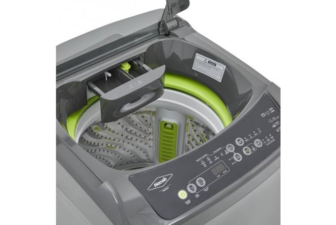 Lavadora HACEB Carga Superior Digital 13 KG Pandora Gris 12