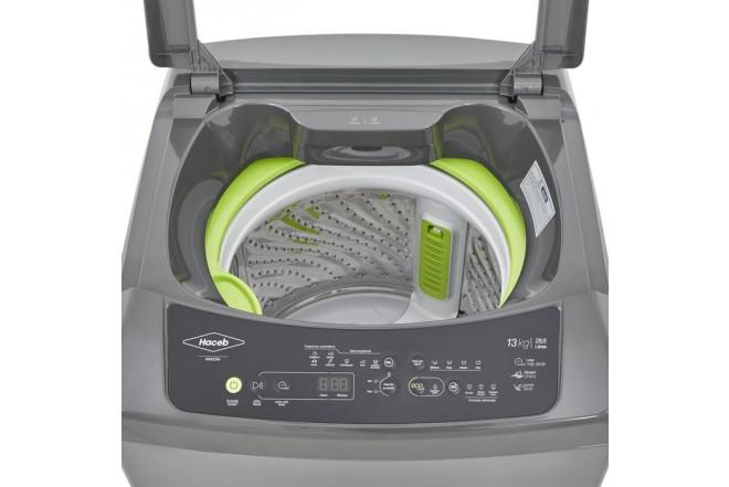 Lavadora HACEB Carga Superior Digital 13 KG Pandora Gris 6