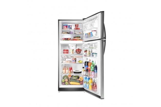 Nevera MABE No Frost Congelador Superior 420 Litros Brutos RMP420FYCU Gris4