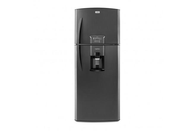 Nevera MABE No Frost Congelador Superior 400 Litros Brutos RMP400FZCC Negro1