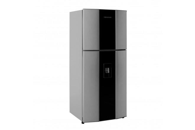 Nevera CHALLENGER No Frost Congelador Superior 390 Litros Brutos CR498B Gris1