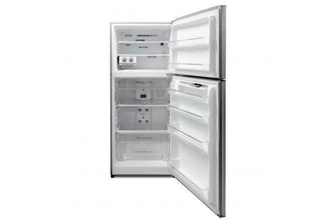 Nevera CHALLENGER No Frost Congelador Superior 390 Litros Brutos CR498B Gris3