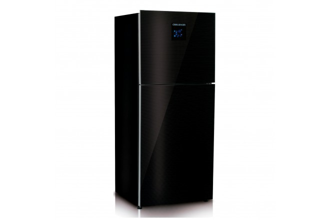 Nevera CHALLENGER No Frost Congelador Superior 450 Litros Brutos CR570 Negro1
