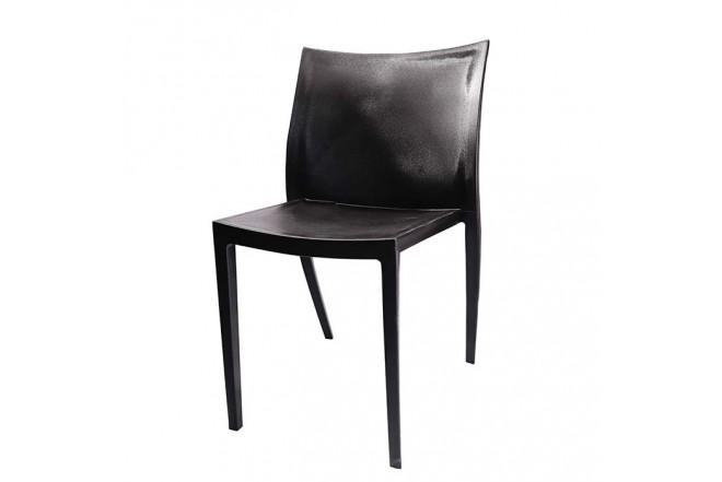 Silla de Diseño Auxiliar H-7055 Negra