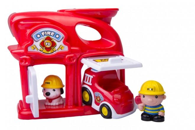 Estación de bomberos Keenway Rojo