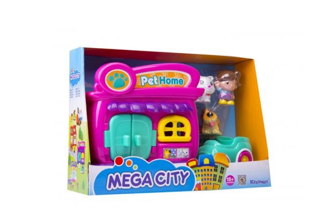 Hogar de mascotas Mega city Keenway