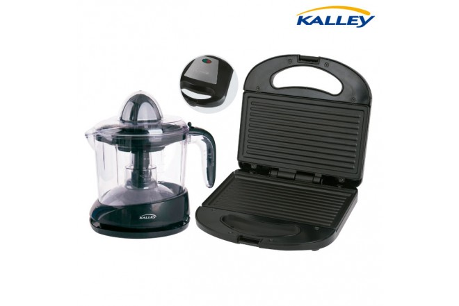 Kombo KALLEY Exprimidor J200 + Sanduchera SMP200N