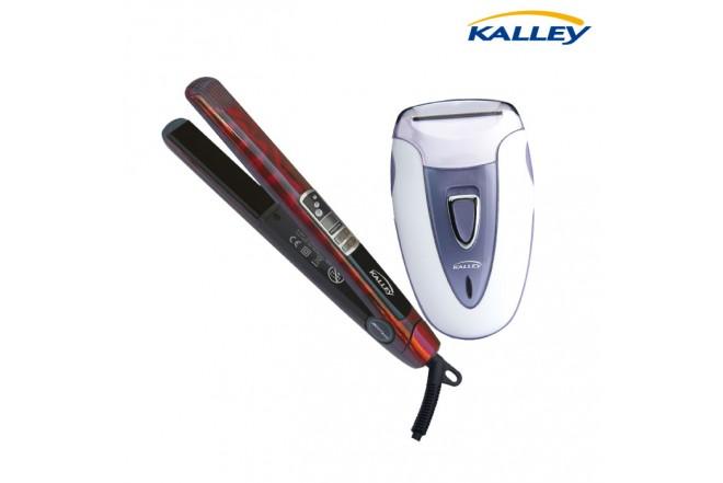 Kombo KALLEY Plancha de Cabello PABI5 + Afeitadora Sensitiv K-ASDW
