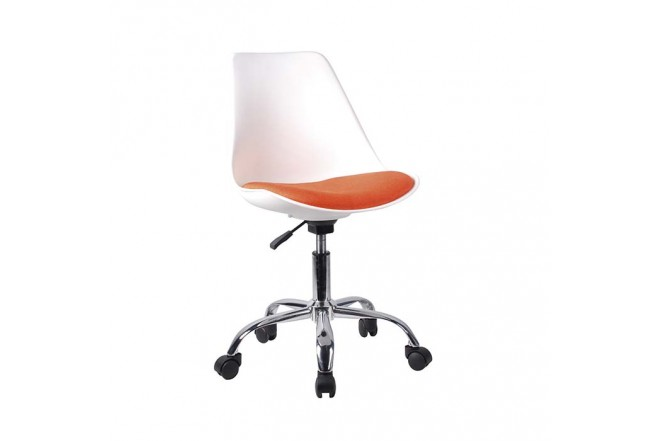 Silla de Oficina OFFICE MART 9108 Base Naranja