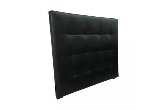Cabecero 160 x 120 cm TUKASA Ecocuero Negro
