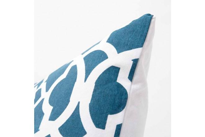 Cojín K-LINE 45 x 45 Azul/Blanco 65