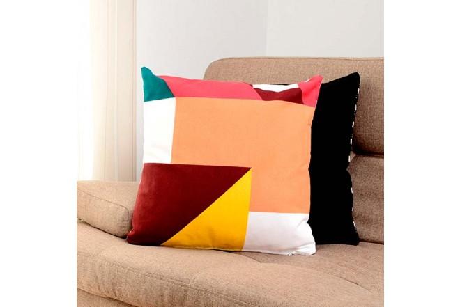Cojín K-LINE 45 x 45 Estampado Multicolor 76